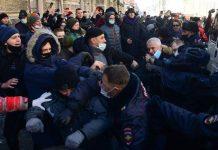 U Rusiji pristalice Navalnog na protestima uprkos upozorenjima vlasti