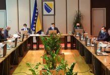 Vijeće ministara BiH danas razmatra budžet i povećanje osnovice za plate