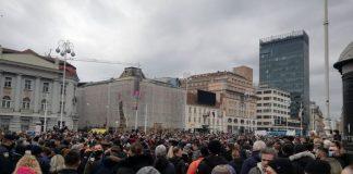 Zagreb: Prosvjednici traže potpore, ukidanje nameta i odlazak ministra Ćorića
