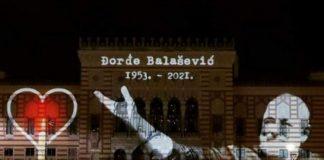 Sarajevska Vijećnica osvijetljena u čast Đorđa Balaševića