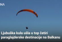 Ljubuška kula ušla u top četiri paraglajderske destinacije na Balkanu