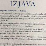 Predstavnici stranaka potpisali Izjavu o položaju povratnika i Srebrenici