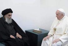 Papa Franjo održao istorijski sastanak s velikim ajatolahom Sistanijem
