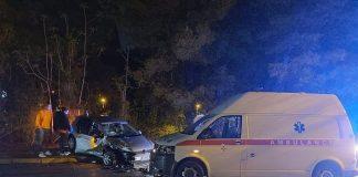 U sudaru vozila Hitne pomoći i golfa povrijeđeno više osoba