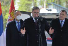 Aleksandar Vučić: Ne znam za ideju o mirnom razlazu BiH, ne osuđujem i ne hvalim