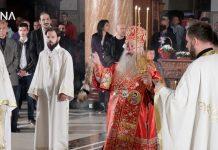 Vaskršnja liturgija služena u Sabornoj crkvi u Sarajevu