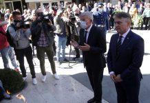 Džaferović i Komšić: Fašistička ideologija je itekako živa u BiH