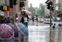 I narednih dana oblačno s kišom i lokalnim pljuskovima