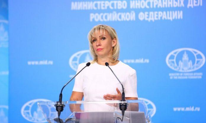 Zaharova: Reakcija Zapada na preusmjeravanje aviona u Minsk