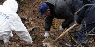 Ekshumacija u Donjem Vakufu: Ekshumirani nekompletni posmrtni ostaci jedne osobe
