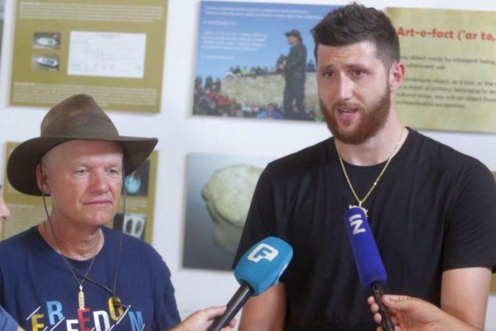 Jusuf Nurkić obišao piramide u Visokom