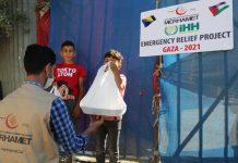 'Merhametova' pomoć stigla palestinskom narodu u pojasu Gaze
