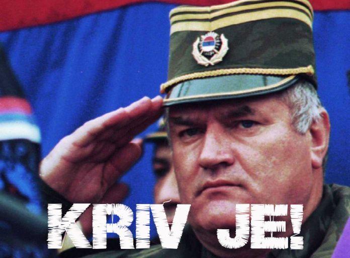 KRIV JE! Ratko Mladić osuđen na kaznu doživotnog zatvora!