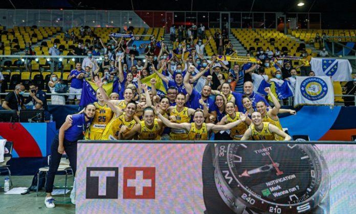 Košarkašice BiH danas u četvrtfinalu Eurobasketa protiv Francuske