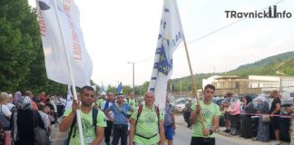 Svi učesnici 'Marša mira' stigli u Potočare, nije bilo odustajanja