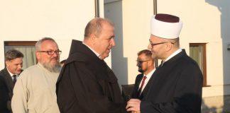 Na jučerašnjem bajramskom prijemu mostarskog muftije predstavnici svih vjerskih zajednica