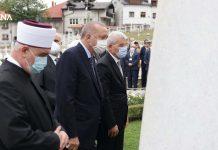 Predsjednik Turske obišao mezarje Kovači