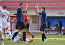 Džeki danas trebalo pola sata da zabije prvi gol za Inter