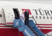 Predsjednik Turske Recep Tayyip Erdoğan doputovao u Sarajevo