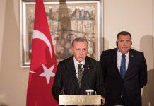 Erdogan: Očekujem povećanje obima trgovinske razmjene i investcija