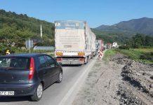 Zbog saobraćajne nezgode obustavljen saobraćaj za kamione na MP Zenica-Žepče