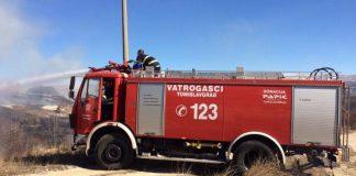 Požari aktivni u Stocu i Jablanici , Čapljini, izgorjela kuća i dvije štale