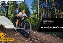 U Travniku Evropska sedmica sporta u organizaciji Olimpijskog komiteta Bosne i Hercegovine