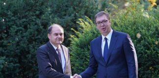Vučić i Šmit: Narodi u BiH da odlučuju o svojoj sudbini bez miješanja sa strane