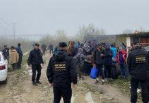 Izmješteni migranati pronađeni u napuštenim objektima na području grada Bihaća
