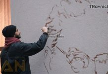 Travnik dobio mural Ive Andrića