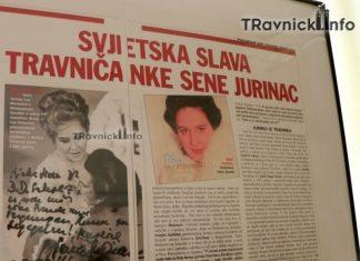 U Travniku otvorena izložba u povodu 100 godina rođenja Srebrenke Sene Jurinac